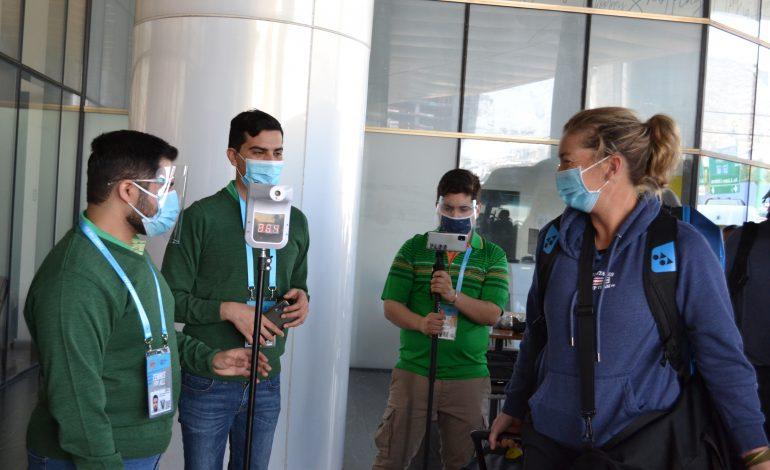 Arriban jugadoras para disputar el Abierto de Monterrey