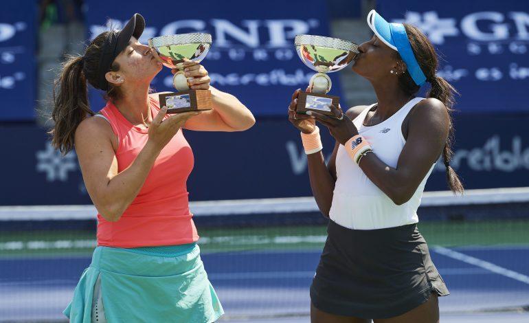 Pareja estadounidense levanta el título de dobles en Monterrey