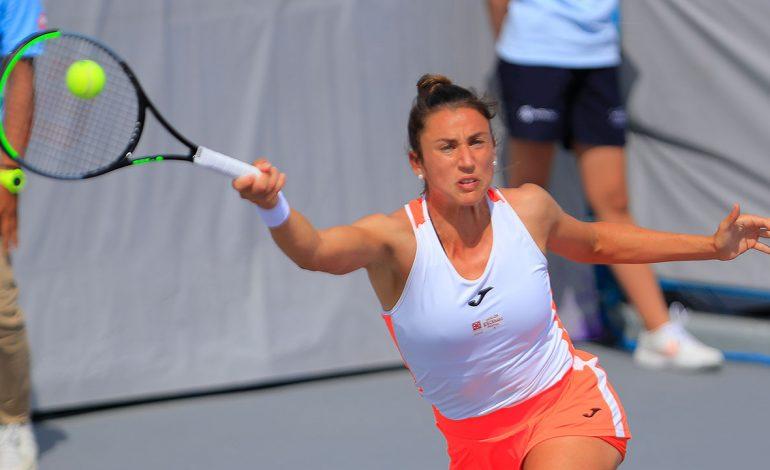 Avanza la española Sara Sorribes a la siguiente ronda del WTA de Zapopan