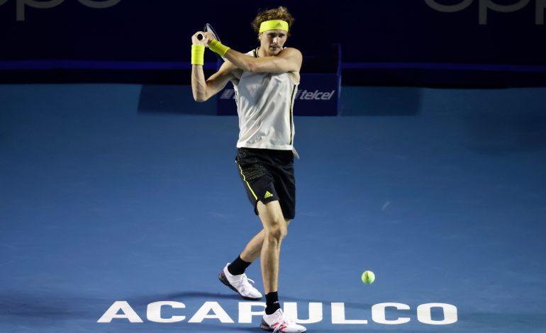Ruud se retira de Acapulco y Zverev es primer semifinalista