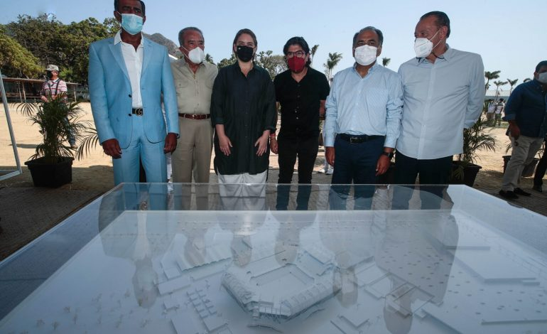 Reinician las obras de construcción del nuevo complejo de tenis de Acapulco