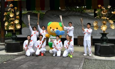 Relevo de antorcha olímpica arroja 1er positivo por COVID-19