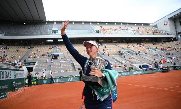 Checa Krejcikova gana Roland Garros